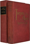 "Books:First Editions, Edgar Rice Burroughs. Tarzan of the Apes. Chicago: A. C.McClurg & Co., 1914. First edition, with ""Published Jun..."