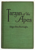 Books:Signed Editions, Edgar Rice Burroughs. Tarzan of the Apes. New York: A. L.Burt Company, 1914. Reprint. Inscribed by the author to ...