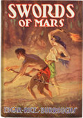 Books:First Editions, Edgar Rice Burroughs. Swords of Mars. Tarzana: Edgar RiceBurroughs, [1936]. First edition stated on copyright page....