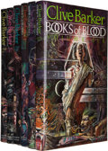 Books:Signed Editions, Clive Barker. Books of Blood Volumes I-VI. London:Weidenfeld & Nicolson, [1984-85]. First hardcover edition...(Total: 6 Items)