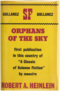 Books:Science Fiction & Fantasy, Robert A. Heinlein. Orphans of the Sky. London: Victor Gollancz, 1963. First edition. Octavo. 160 pages. Publisher's...