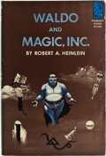 Books:Signed Editions, Robert A. Heinlein. Waldo and Magic, Inc. Garden City,Doubleday & Company, 1950. First edition. Signed by the aut...