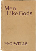 Books:Science Fiction & Fantasy, H. G. Wells. Men Like Gods. London, et al.: Cassell and Company, Ltd., [1923]. First edition. Octavo. viii, 304 ...