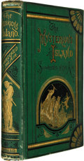 Books:Science Fiction & Fantasy, Jules Verne. The Mysterious Island: Part First, Shipwrecked inthe Air. Boston: Henry L. Shepard and Company, 18...
