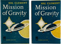 Books:Science Fiction & Fantasy, Hal Clement. Two Signed Copies of Mission to Gravity. GardenCity, New York: Doubleday & Company, Inc., 1954. Fi... (Total:2 Items)