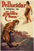 Books:Science Fiction & Fantasy, Edgar Rice Burroughs. Pellucidar. Chicago: A. C. McClurg & Co., 1923. First edition. Inscribed by Forrest J. Acker...
