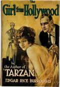 Books:Science Fiction & Fantasy, Edgar Rice Burroughs. The Girl from Hollywood. New York: The Macaulay Company, [1923]. First edition, second printin...