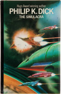 Books:First Editions, Philip K. Dick. The Simulacra. London: Eyre Methuen, [1977].First hardcover edition. Octavo. 220 pages. Publisher's...
