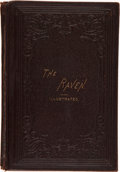 Books:First Editions, Edgar Allan Poe. The Raven. Illustrated. WithBiographical Sketch of the Author. New York: W. Jennin...