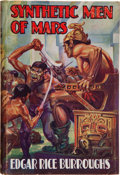 Books:Science Fiction & Fantasy, Edgar Rice Burroughs. Synthetic Men of Mars. London: Methuen& Co., Ltd., [1941]. First British edition. From ...