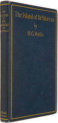 Books:Science Fiction & Fantasy, [Jerry Weist]. H. G. Wells. The Island of Dr. Moreau. A Possibility. New York: Stone & Kimball, 1896. First Amer...