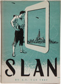 Books:First Editions, A. E. van Vogt. Slan. Sauk City: Arkham House, 1946. Firstedition. Publisher's binding and dust jacket. Slightl...