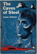 Books:Science Fiction & Fantasy, Isaac Asimov: The Caves of Steel. Garden City, New York: Doubleday & Company, Inc., 1954. First edition. Octavo. 224...