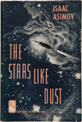 Books:Science Fiction & Fantasy, Isaac Asimov. The Stars, Like Dust. Garden City, NewYork: Doubleday & Company, Inc., 1951. Signed by the ...
