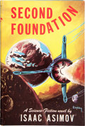 Books:Science Fiction & Fantasy, Isaac Asimov. Second Foundation. [New York]: Gnome Press, [1953]. First edition, first state. Inscribed and signed...