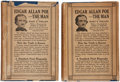 Books:Literature Pre-1900, [Edgar Allan Poe]. Mary E. Phillips. Edgar Allan Poe-The Man. Chicago: The John C. Winston Co., 1926. Two volumes. P... (Total: 2 Items)