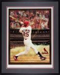 Baseball Collectibles:Others, Mark McGwire Signed Lithograph....