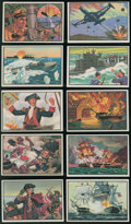 "Non-Sport Cards:Sets, 1953 Bowman ""U.S. Navy Victories"" Complete Set (48). ..."