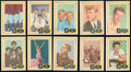 Non-Sport Cards:Sets, 1960 Fleer Spins And Needles High Grade Complete Set (80). ...