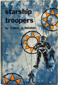 Books:First Editions, Robert A. Heinlein. Starship Troopers. New York: G. P.Putnam's Sons, [1959]. First edition, first printing with no ...
