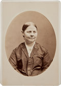 Photography:Cabinet Photos, Superb Lucy Stone, American Abolitionist and Suffragist, CabinetPhotograph....