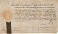 Autographs:Statesmen, James Livingston Signed 1774 Masonic Appointment. ...
