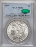 Morgan Dollars, 1899 $1 MS64+ PCGS. CAC. PCGS Population (3449/1242). NGC Census:(2621/643). Mintage: 330,846. Numismedia Wsl. Price for p...