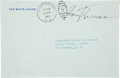Autographs:U.S. Presidents, Harry S. Truman Free Frank Signature on a White House Envelope....