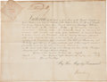 Autographs:Non-American, Queen Victoria Document Signed....