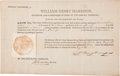 Autographs:Statesmen, William Henry Harrison Early Indiana Territorial Document Signed...