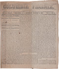 Miscellaneous:Newspaper, Volume 1, Issue Number Three of the Columbia Phoenix, March25, 1865 With an Account of the Fall of Columbia, Sout...