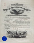 Autographs:U.S. Presidents, William Taft Military Appointment Signed...