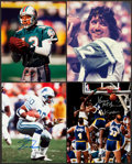Miscellaneous Collectibles:General, Misc. Sports Legends Signed Photographs Lot of 4....