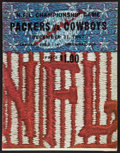 Football Collectibles:Programs, 1967 NFL Championship Game Packers vs. Cowboys Program - Known as the Ice Bowl....