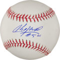 Baseball Collectibles:Others, Aroldis Chapman Single Signed Baseball and Price Fielder SignedOversized Photograph....