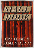 Books:First Editions, Edna Ferber and George S. Kaufman. Stage Door. Garden City:Doubleday, Doran, 1936. First edition, first printin...