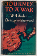 Books:First Editions, W. H. Auden & Christopher Isherwood. Journey to a War.New York: Random House, [1939]. First edition, first printing...