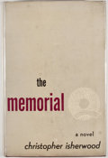 Books:First Editions, Christopher Isherwood. The Memorial. Norfolk: NewDirections, [1946]. First edition, first printing. Octavo.Publish...