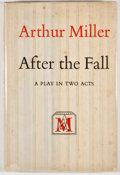 Books:First Editions, Arthur Miller. After the Fall. New York: Viking Press,[1964]. First edition, first printing. Octavo. Publisher's bi...