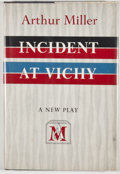 Books:First Editions, Arthur Miller. Incident at Vichy. New York: Viking Press,[1965]. First edition, first printing. Octavo. Publish...