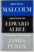 Books:First Editions, Edward Albee. Malcolm. New York: Atheneum, 1966. Firstedition, first printing. Octavo. Publisher's binding and dust...