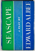Books:First Editions, Edward Albee. Seascape. New York: Atheneum, 1975. Firstedition, first printing. Octavo. Publisher's binding and dus...