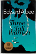 Books:First Editions, Edward Albee. Three Tall Women. [New York]: Dutton, [1995].First edition, first printing. Octavo. Publisher's bindi...