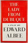 Books:First Editions, Edward Albee. The Lady From Dubuque. New York: Atheneum,1980. First edition, first printing. Octavo. Publisher's bi...