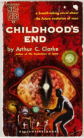Books:First Editions, Arthur C. Clarke. Childhood's End. [New York]: Ballantine,[1953]. First paperback edition, first printing. Mass mar...