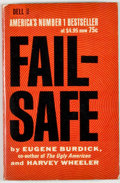Books:First Editions, Eugene Burdick and Harvey Wheeler. Fail Safe. [New York]:Dell, [1963]. First paperback edition, first printing....