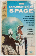 Books:First Editions, Arthur C. Clarke. The Exploration of Space. [New York]:Pocket, [1954]. First paperback edition, first printing....