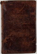 Books:First Editions, Isaac Backus. A Church History of New-England. Vol. II.Extending from 1690, to 1784. Providence: John Carter, 1784....