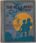 Books:Children's Books, Georgette Leblanc. The Blue Bird for Children. New York:Silver Burdett, [1914]. Octavo. Publisher's binding. Color ...