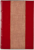 Books:First Editions, C. L. Douglas. Famous Texas Feuds. Dallas: Turner, [1936].First edition. Octavo. Custom half leather. Photographic ...